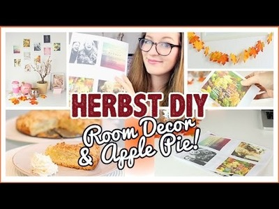 Herbst DIY I Room Decor & Best Apple Pie! #Rocktober