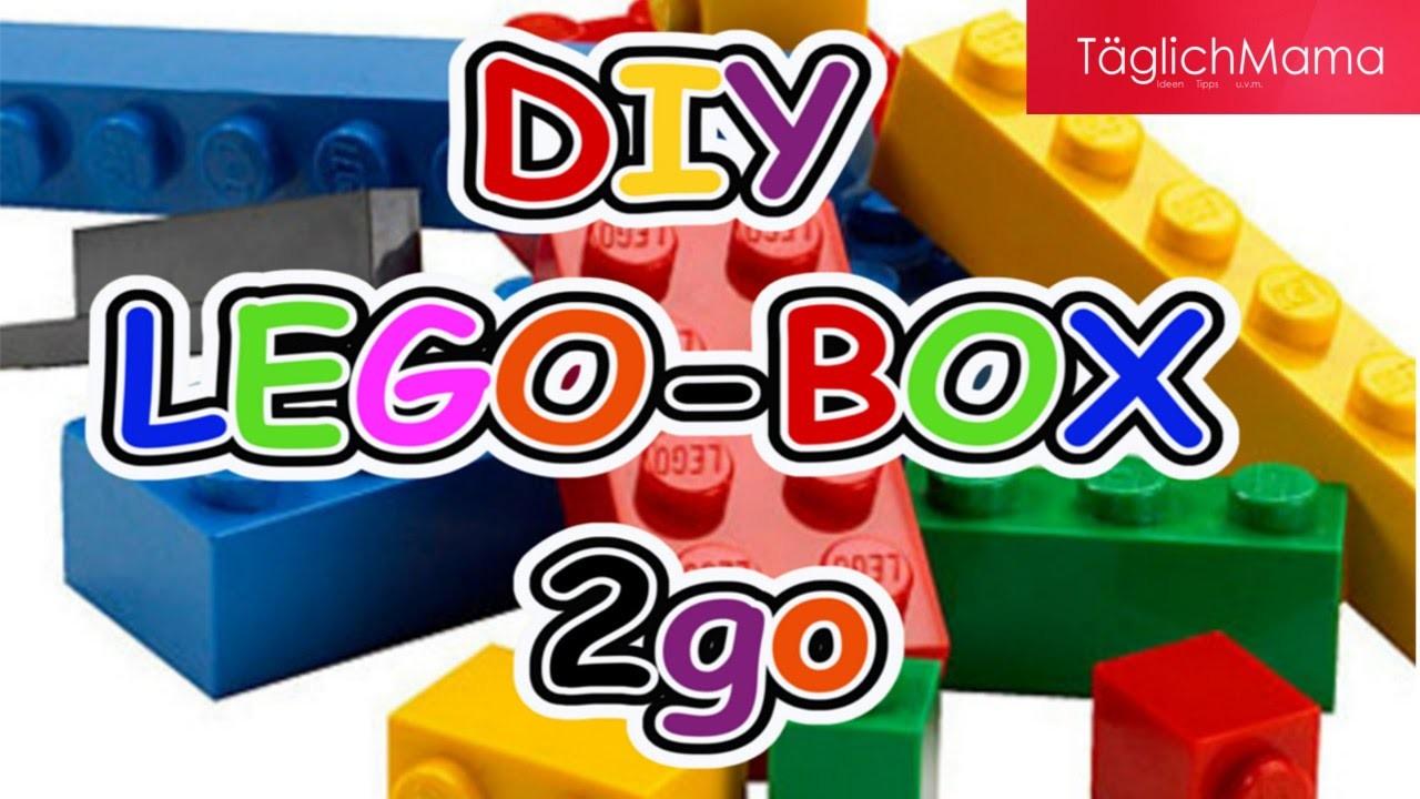 DIY LEGO-BOX 2go. Lego-Box für unterwegs easy nachzubauen. Lego Box to go. TäglichMama