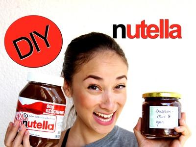 Nutella selber machen - DIY - gesunder Aufstrich - vegane Haselnusscreme - low carb - BodyKiss