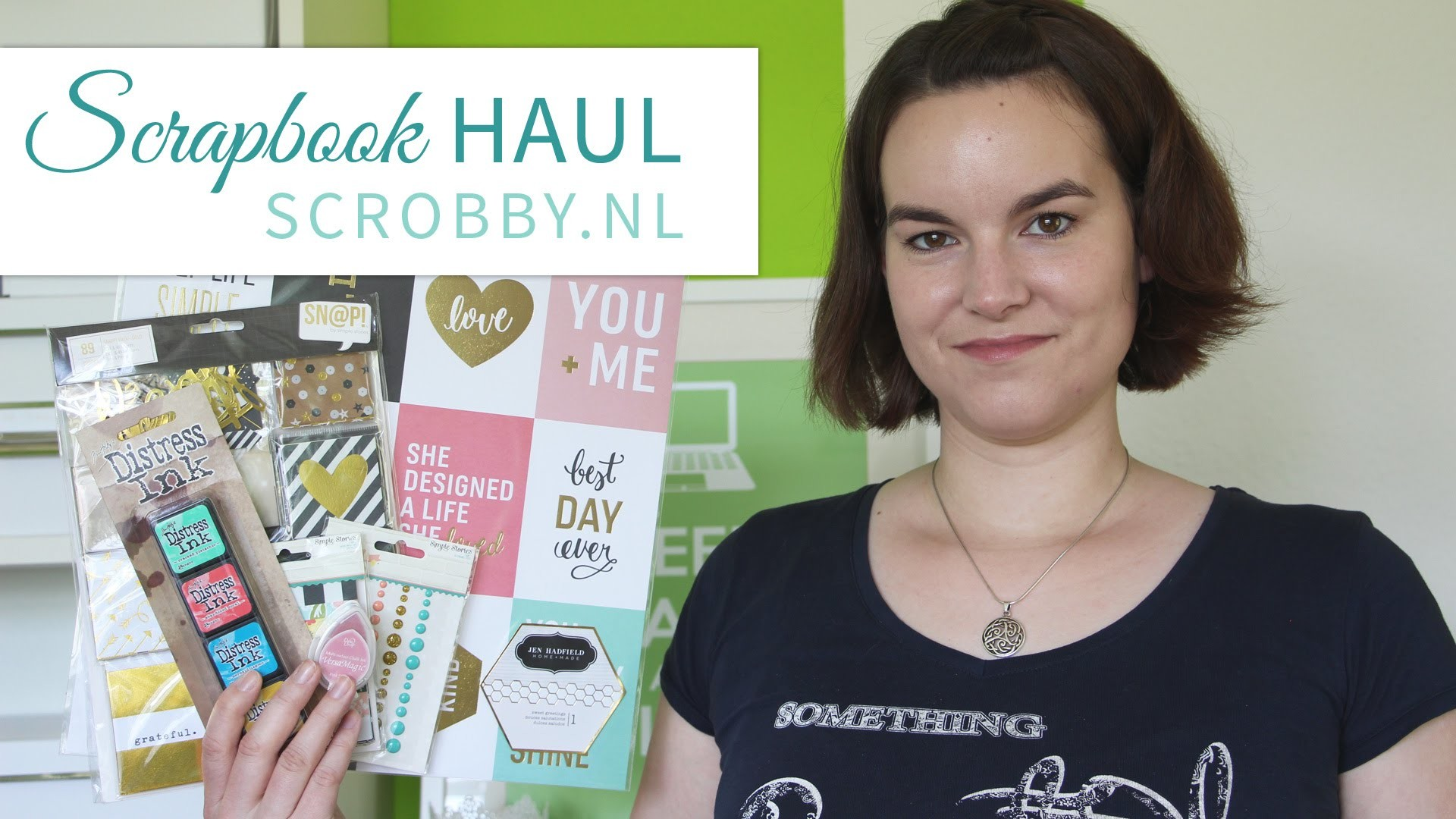 Scrapbook HAUL  ♥ scrobby | Distress Ink, Gold Foil, Project Life