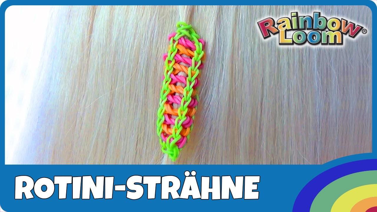 HairLoom Rotini-Strähne - deutsche Anleitung von Rainbow Loom