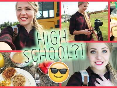 HIGH SCHOOL DREH, Lazy Saturday & Paper Towns | BEHIND THE SCENES