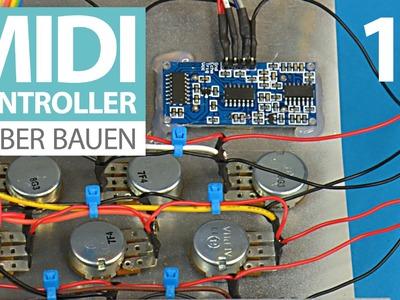 DIY MIDI-Controller E16 - Verkabeln, verkabeln, verkabeln