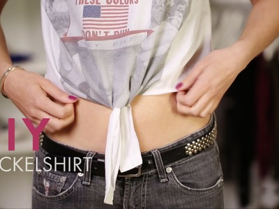 DIY Wickelshirt » Do it Yourself Tutorial | STYLIGHT How To Wear