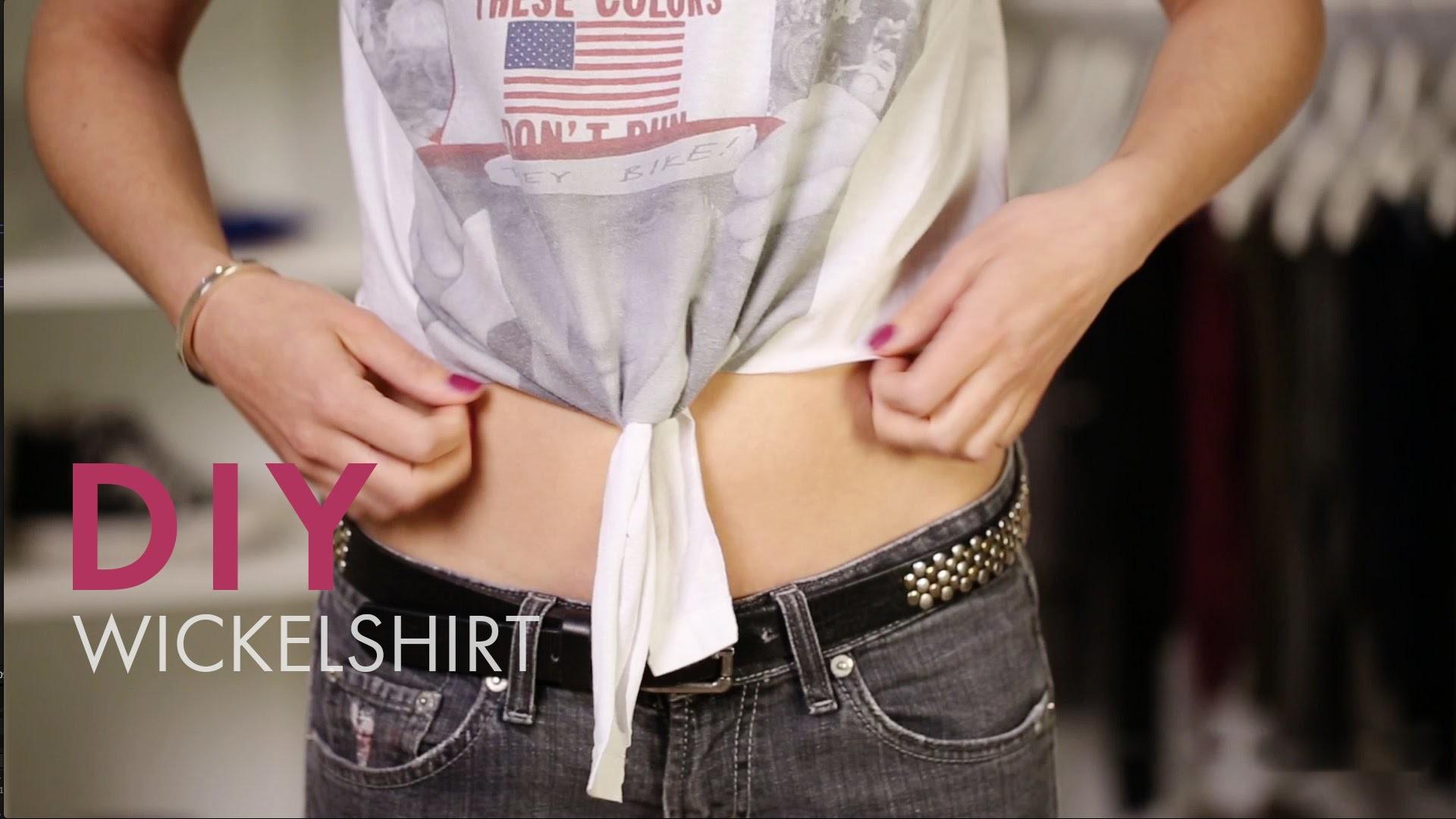 DIY Wickelshirt » Do it Yourself Tutorial | STYLIGHT How To Wear