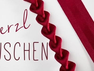 WIESN WOCHE - DIY Herzlrüschen & Dirndl verschönern