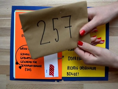 Das WENN BUCH selbstgemacht! | Geburtstagsgeschenk TIPP! DIY einfach, schnell & liebevoll!