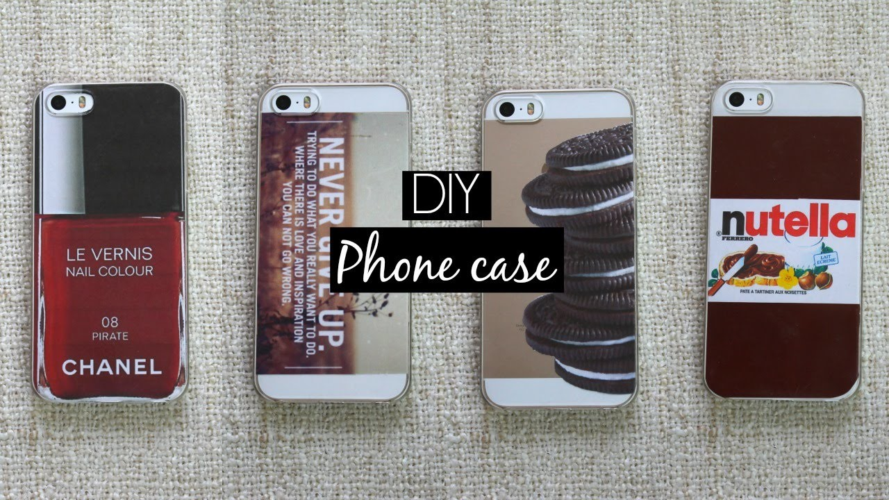 DIY | iPhone case