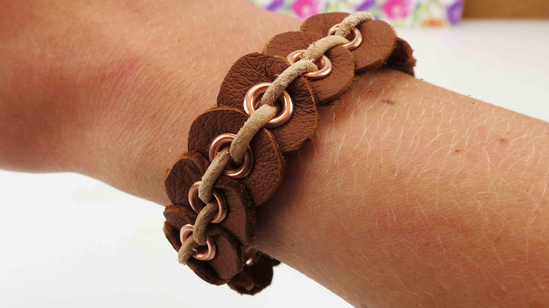 Individuelles Armband selber machen | Freundschaftsarmband aus Leder | tolles Geschenk | DIY