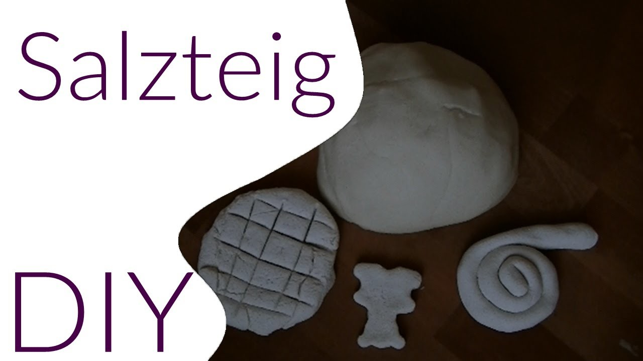 DIY Salzteig SELBER MACHEN. DO IT YOURSELF
