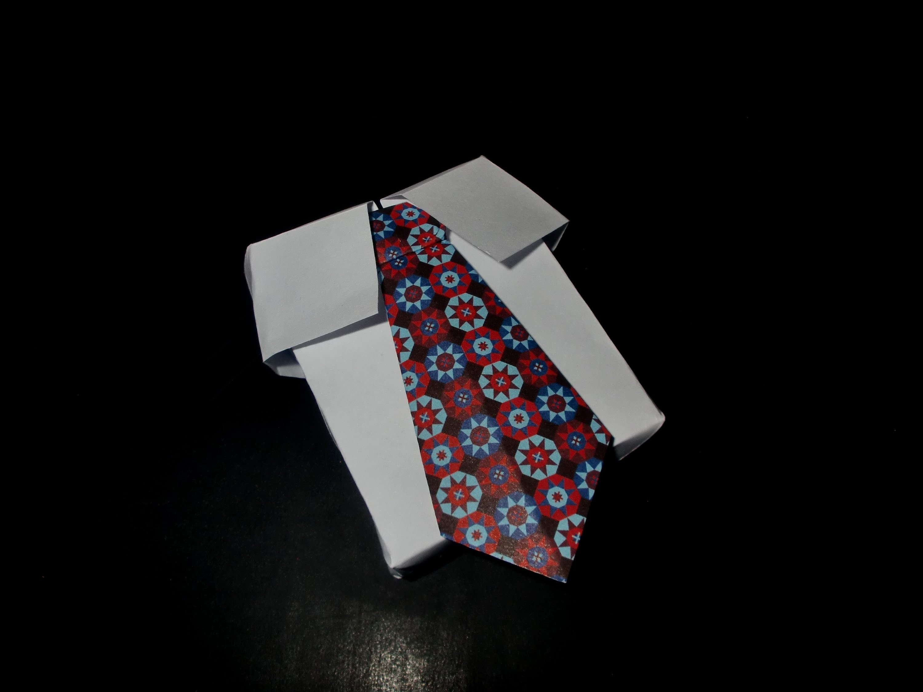 Papierschachtel mit Krawatte: Paperbox with Tie - Tutorial [HD.deutsch]