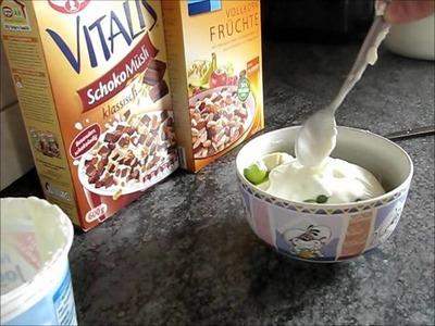 Fit in den Tag- gesundes Frühstück! :)
