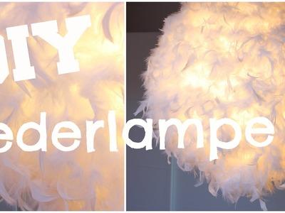 DIY Federlampe | (H&M) zahl 10€ statt 100€
