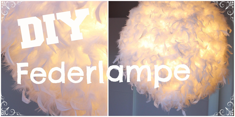DIY Federlampe   (H&M) zahl 10€ statt 100€
