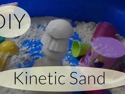 DIY Moon Sand I Kinetic Sand I Zaubersand I Selber machen I Deutsch - Finola 2015