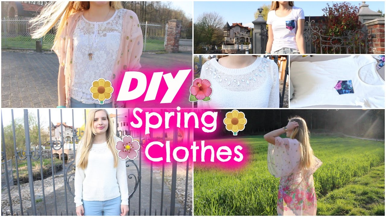 DIY Spring Clothes Inspired by Tumblr | NadinesWorld
