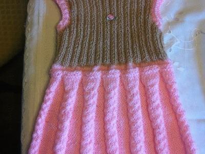Babykleid Stricken*Mädchenkleid*Kinderbekleidung*Teil 2*DIY