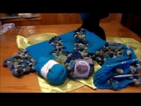 DIY:keka # Inspiration Neue IDEE Schal ; LOOP stricken ; und aufpimpen