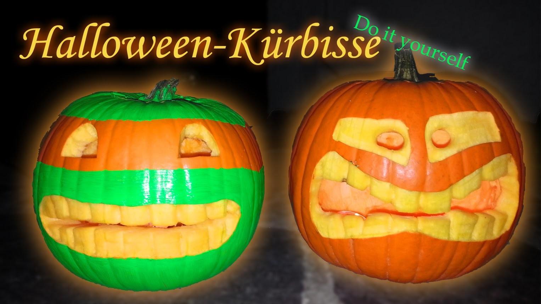 Halloween KÜRBIS NINJA TURTLES DIY [Halloween 2015]