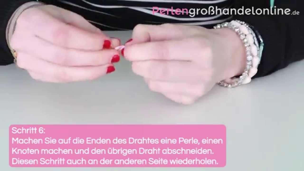 DIY: Armband mit Macramé Draht und DQ Knüpf Anhänger