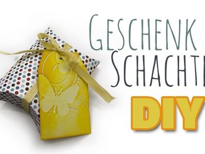 Geschenke-Verpackung: Kissen Schachtel | DIY Geschenk Ideen #08 | Weihnachts-Serie 2014