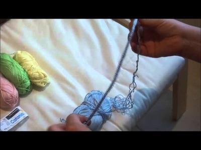 Puppenkleider stricken - Teil 1 - Anfang