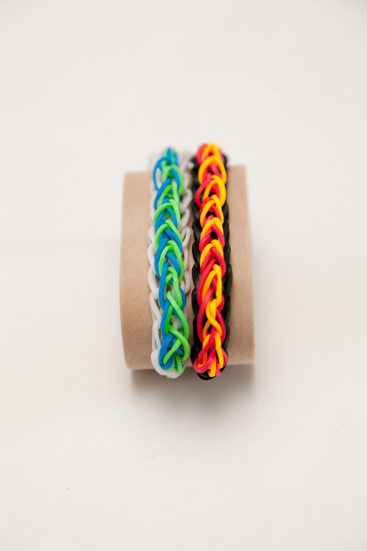 Rainbow Loom Firedrops Bracelet (Deutsch)