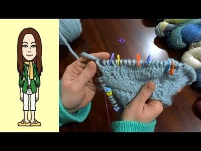 RVO - Raglan von oben Pullover stricken - Russische Zunahme