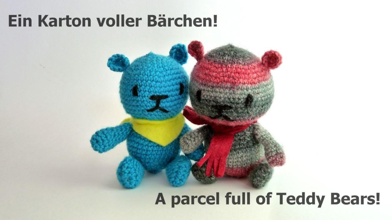 Bärchen für Kinder häkeln! -  Crocheting for kids!