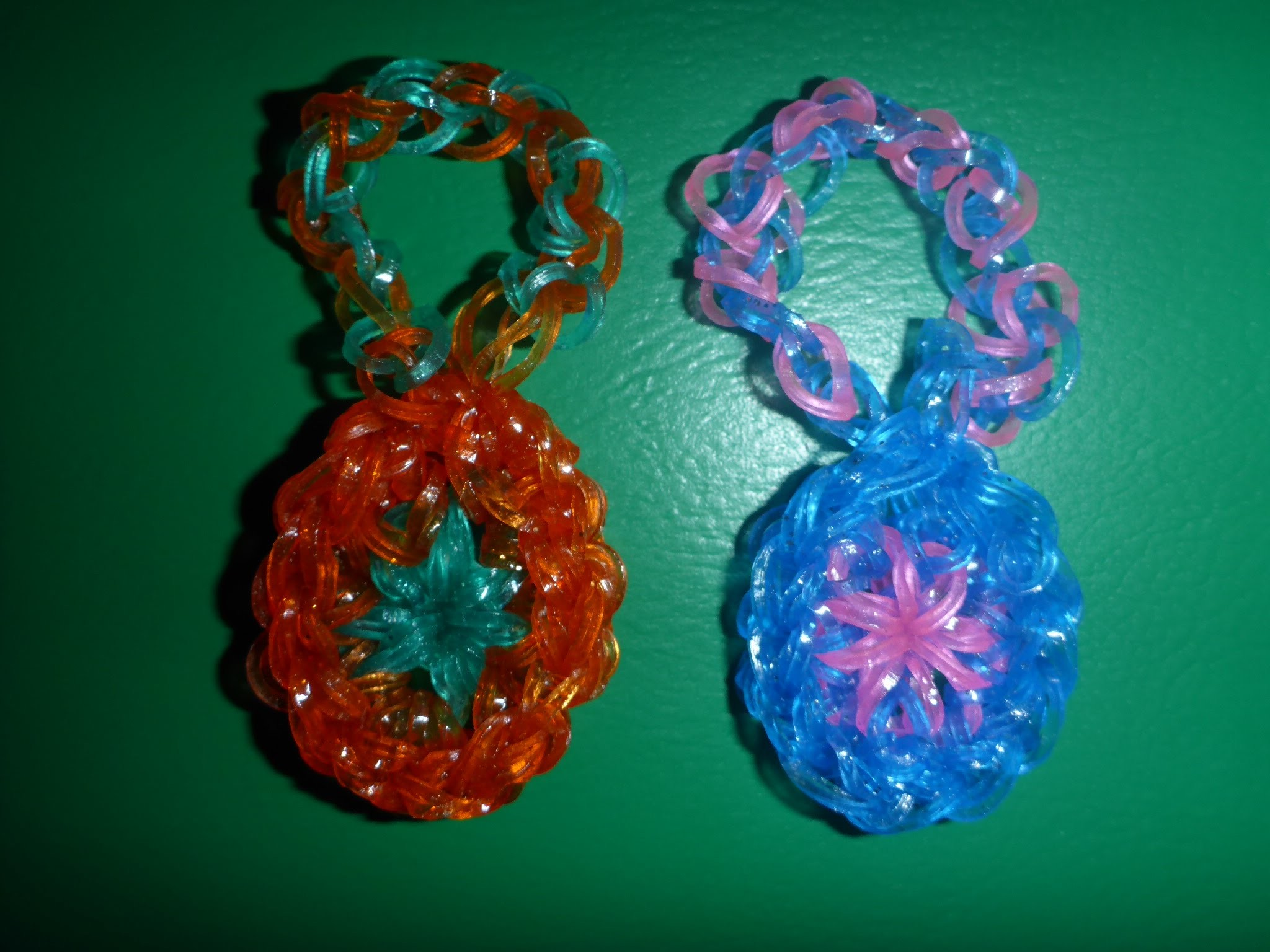 Loom Bands Ostern Osterei Anleitung