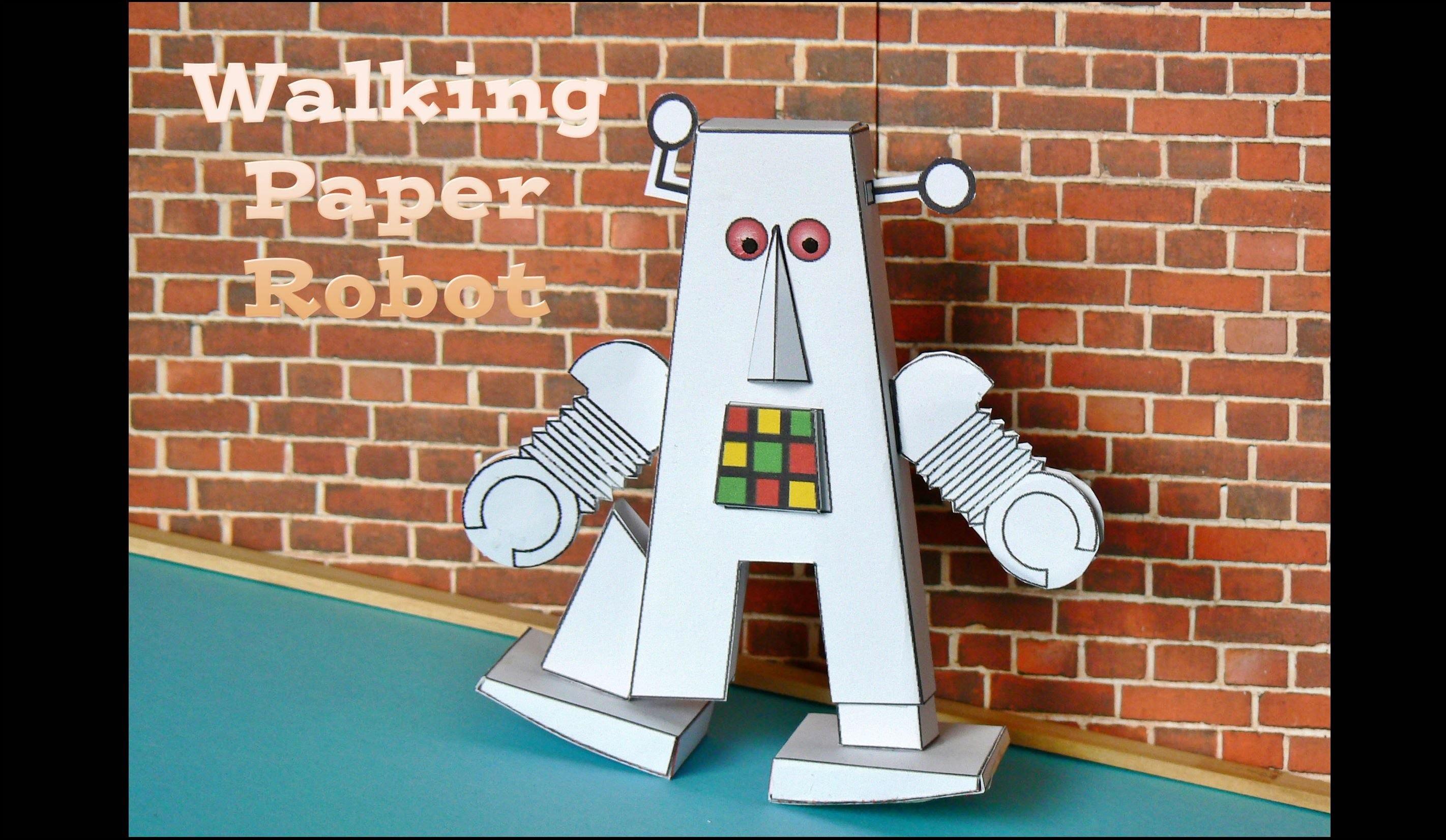 Walking Paper Robot
