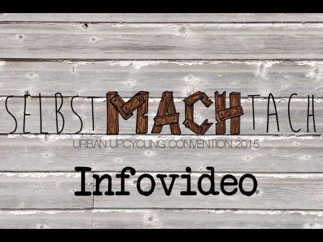 DIY Inspiration Veranstaltungstipp! SelbstMachTach in Dortmund 22. März 2015 !