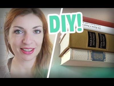 DIY. Schwebendes Bücherregal
