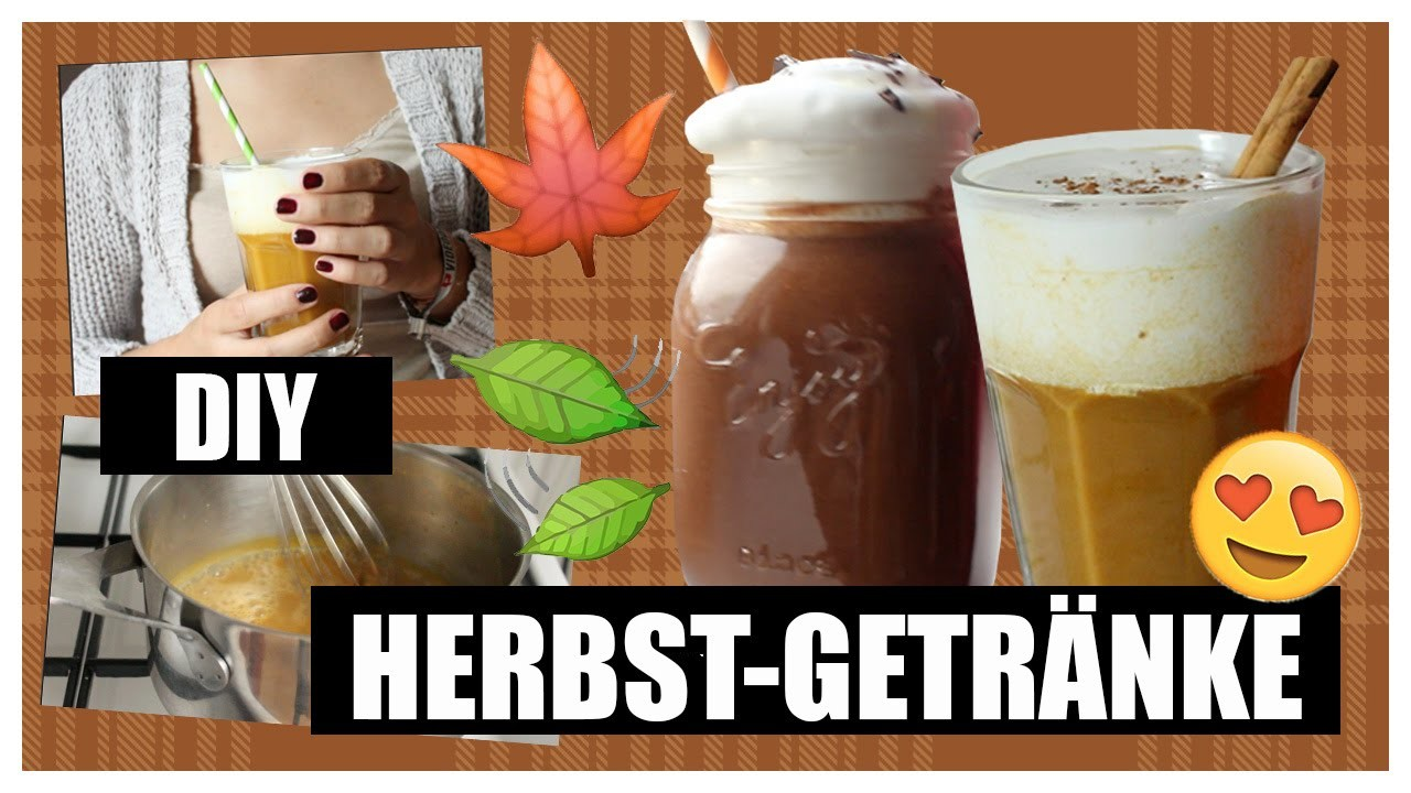 DIY Herbst-Getränke: Pumpkin Spice Latte & Hot Chili Chocolate VEGAN
