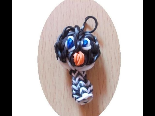 Loom Bands Anleitung deutsch Pinguin Stifthalter - Rubber Bands penguin tutorial