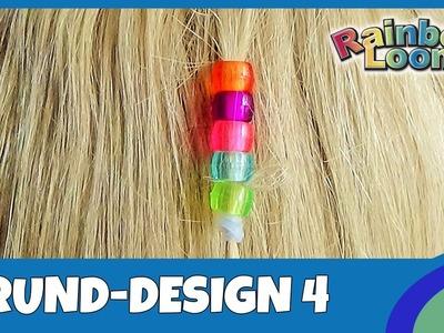 HairLoom Grund-Design 4 - deutsche Anleitung von Rainbow Loom