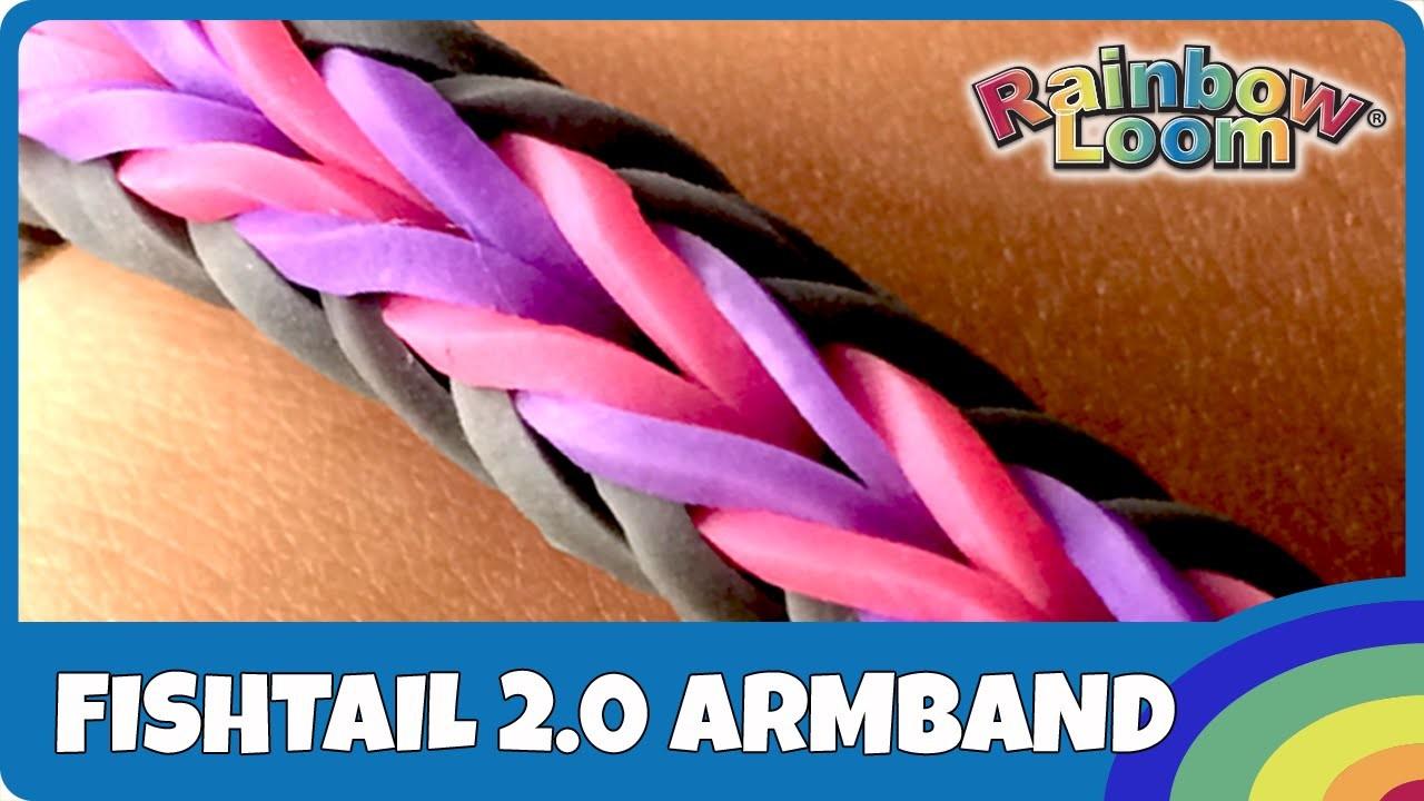 Rainbow Loom Fishtail 2.0 - deutsche Anleitung