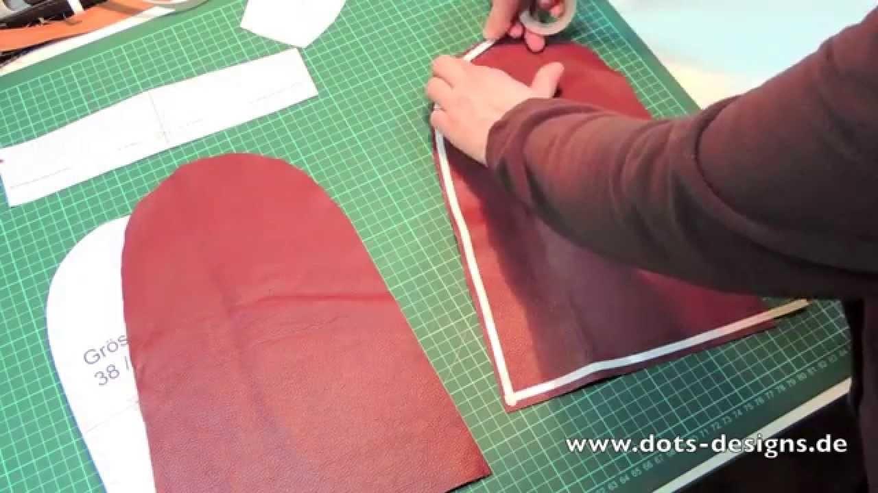 Vorschau: Leder Mokassins selber machen, selber nähen mit Schnittmuster