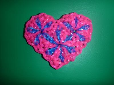 Loom Bands Herz, Heart, Geschenk zum Muttertag, Valentinstag Anleitung