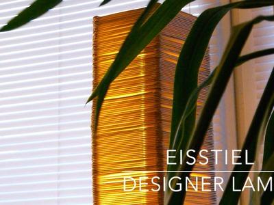 DIY Eisstiel Designer Lampe aus 2300 Stielen