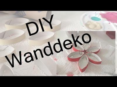 DIY Wanddeko l Klopapierrollen