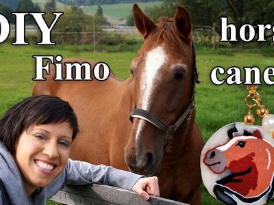 FIMO Pferd Cane: Polymer Horse Bracelet - Tutorial [HD.DE] (EN-Sub)
