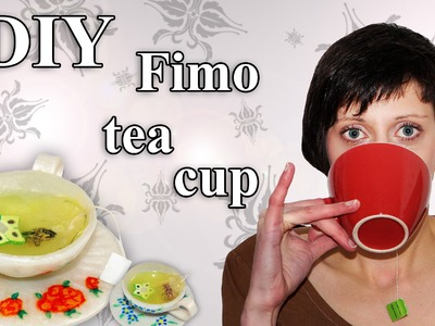 FIMO Tasse (Tee): Polymer Teacup - Tutorial [HD.DE] (EN-Sub)