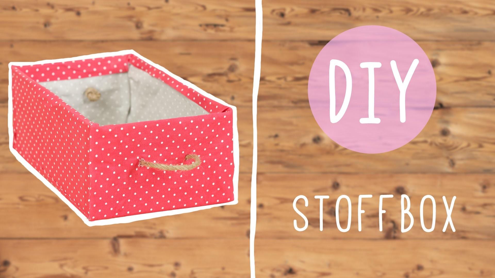 DIY mit Nina Moghaddam: praktische Stoffbox