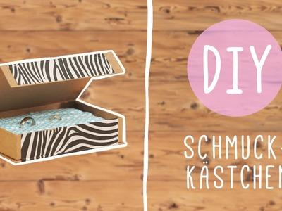 Schmuck aufbewahren: DIY Schmuckkästchen mit Nina Moghaddam!