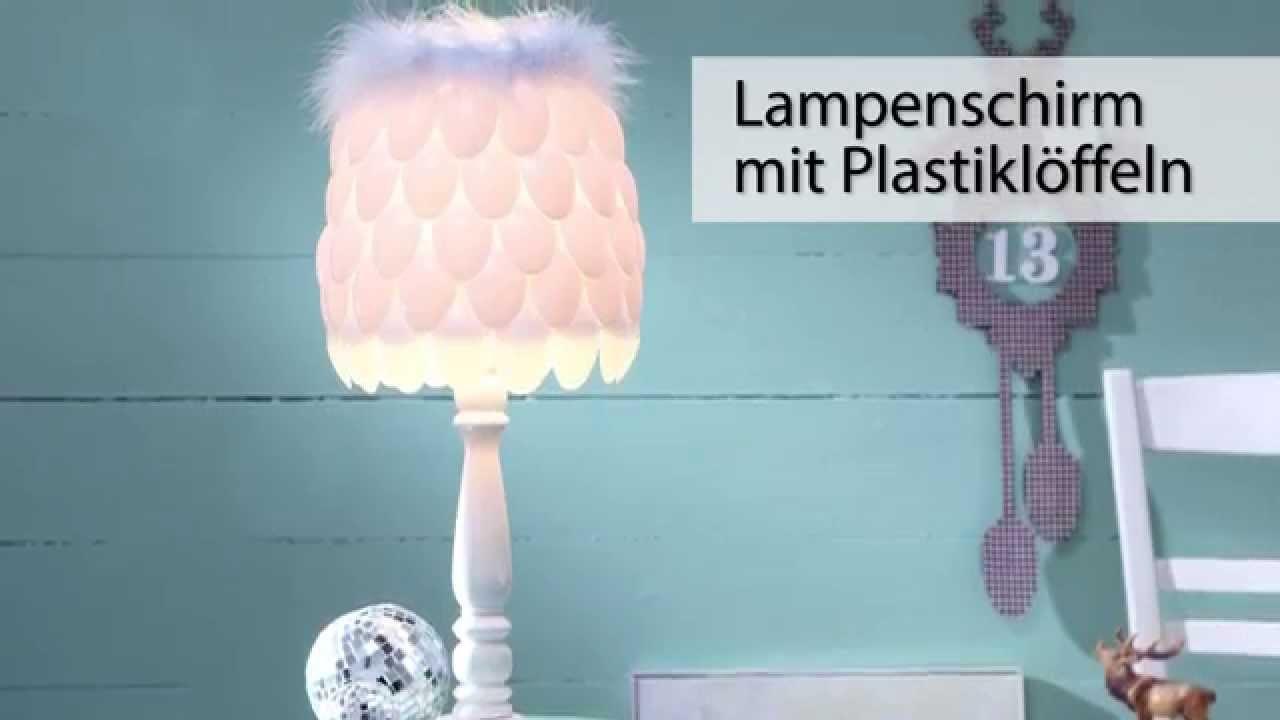 Laviva-DIY: Löffellampe