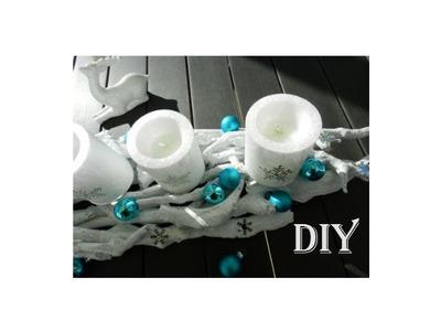DIY - Adventskranz. advent wreath