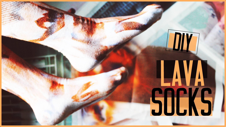 LAVA SOCKS • DIY! Einfach, cool & special!