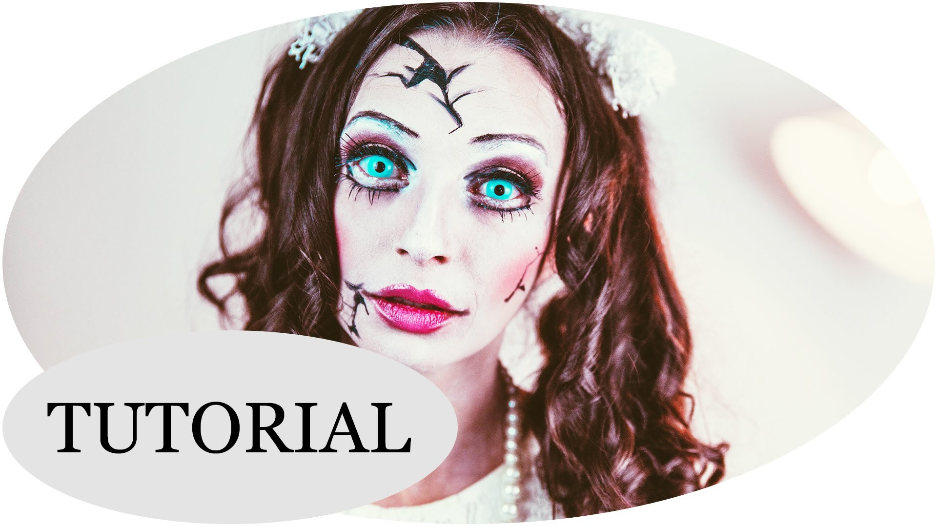 """Creepy Doll"" Halloween Make-up Tutorial"