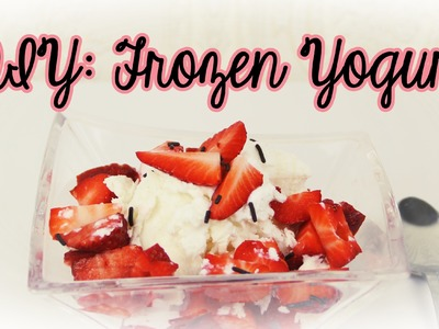 DIY: Frozen Yogurt - Vegan  #Zauberküche